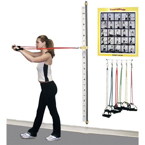 Exercise Bands Names: TheraSlide Rail System