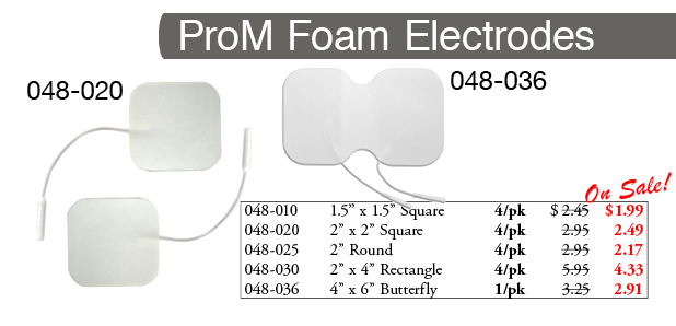 ProM Reusable Electrodes SALE