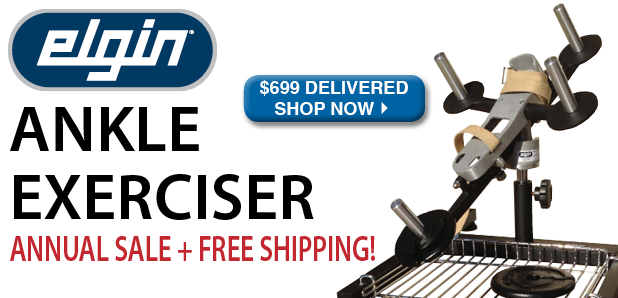 Elgin Ankle Exerciser Annual Sale Plus Free Shipping!