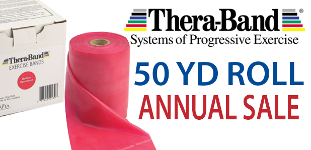Annual 50YD TheraBand Sale