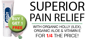 The Ultimate Pain Relief Gel for the Ultimate BOGO Prices!