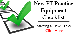 Physical Therapy Equipment Checklist