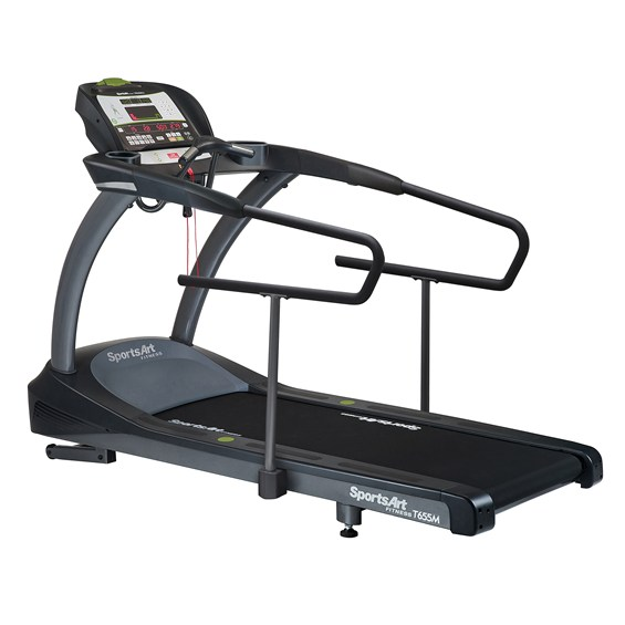 SportsArt T655MS AC Drive Commercial Treadmill with Medical ...