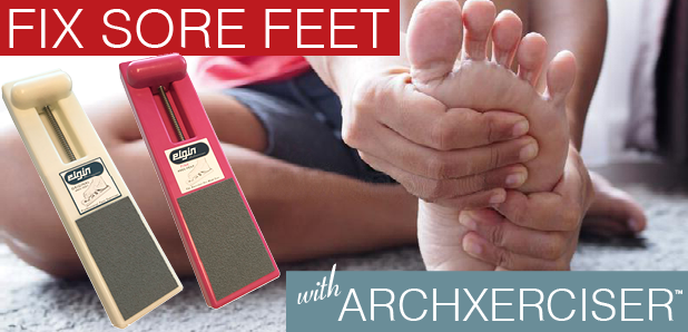 Fix Your Sore Feet Today!