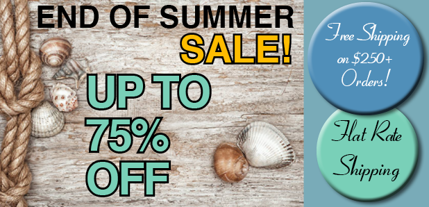 End of Summer Sale - Up to 75% Off