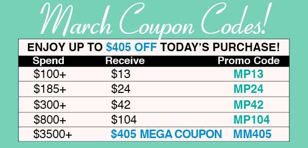 March Coupons