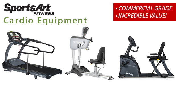 SportsArt Commercial Cardio Equipment!