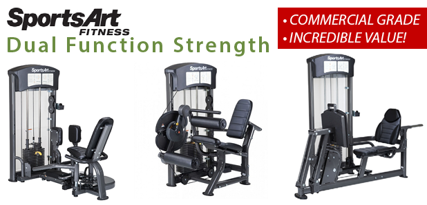 SportsArt Strength Stations & Full Cardio Line