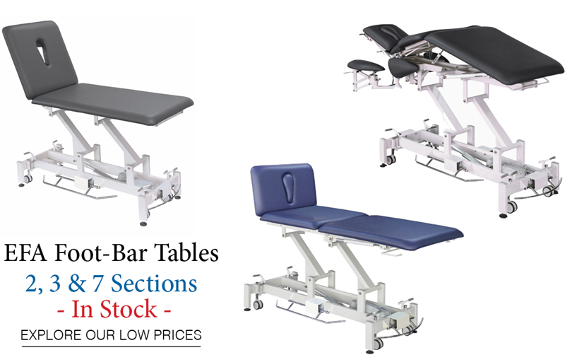 EFA Treatment Tables are In Stock & The Lowest Prices in the industry!