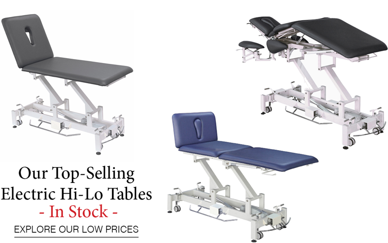 The Lowest Prices for the Best Electric Hi Lo Tables - In Stock
