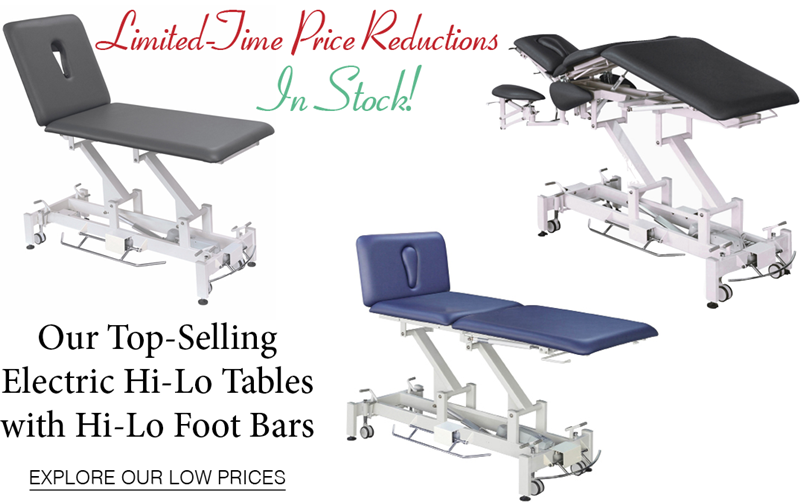 Reduced Prices on Our Top Selling Hi-Lo Tables - IN STOCK
